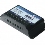 15a MPPT dual battery charge controller with bluetooth app connectivity