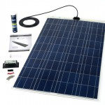 120w flexible solar panel rooftop kit